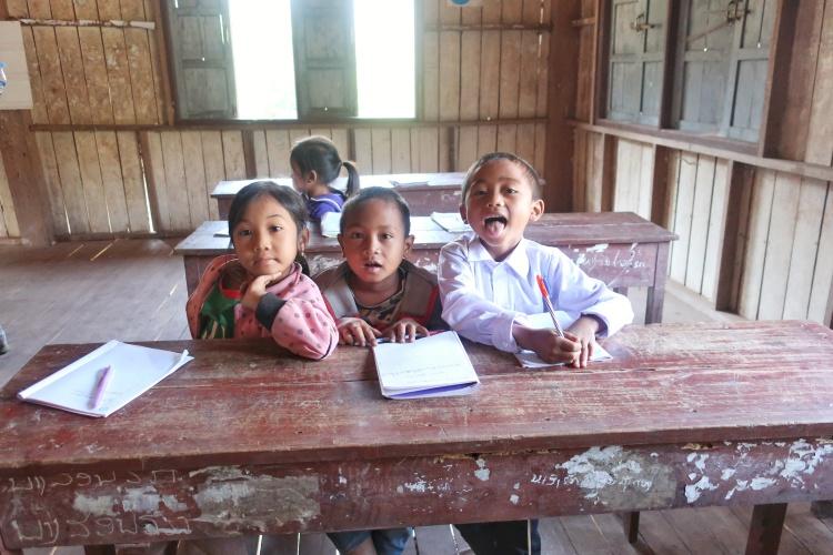 Les enfants studieux