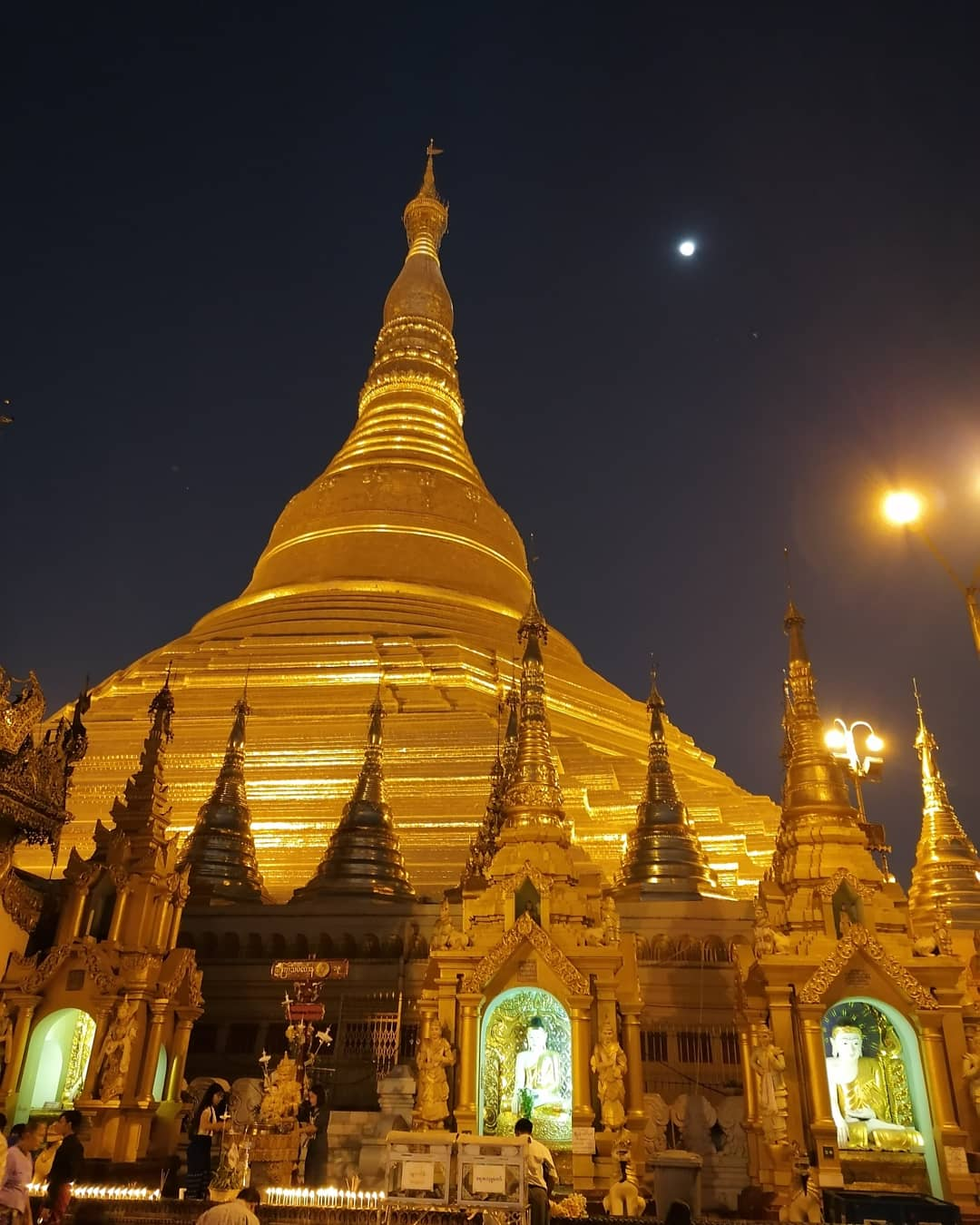 yangon pagode shwedagon