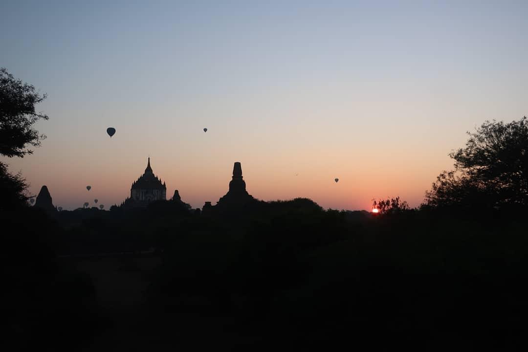 Bagan lever de soleil