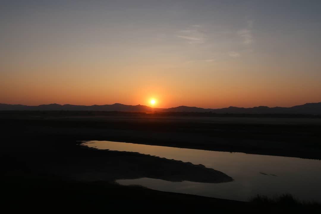 Bagan coucher de soleil