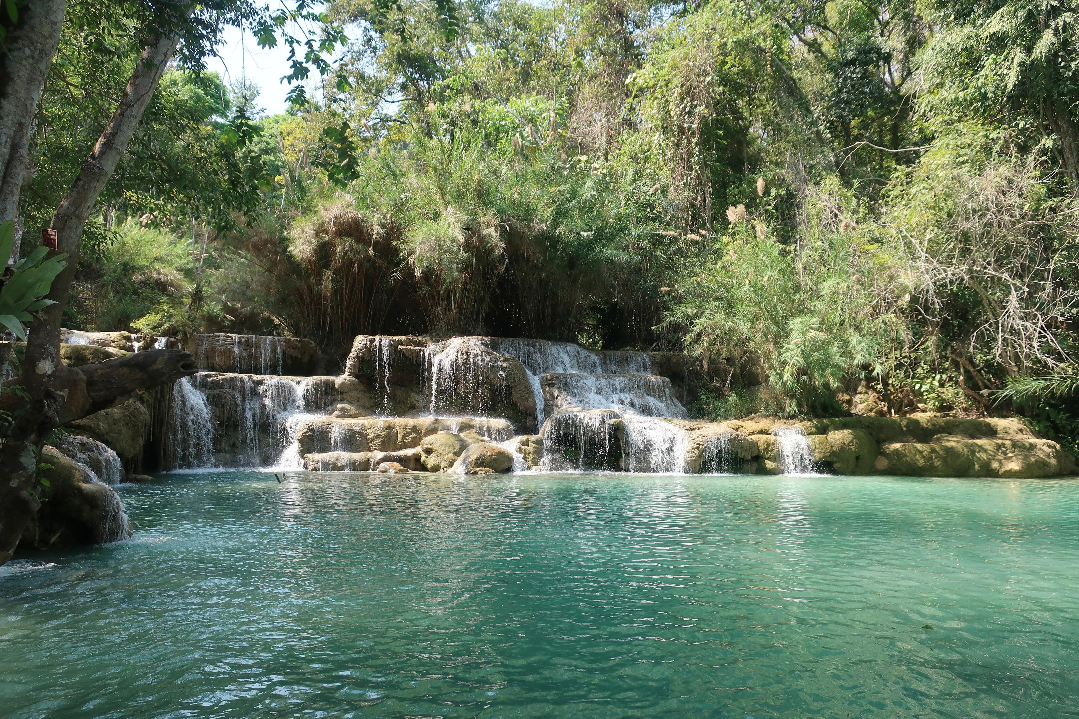 Erawan Waterfalls Luang Prabang